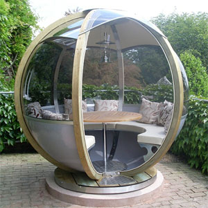 Farmers Cottage Rotating Garden Sphere