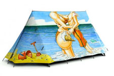 Fieldcandy 'wish you were here' tent