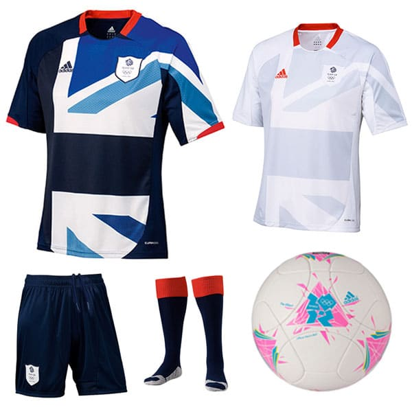 TeamGB Official adidas Replica Football Kit